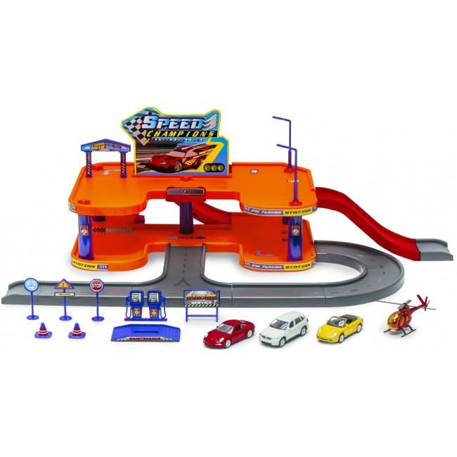 96040, City GARAGE 4 PlaySet 1:60,