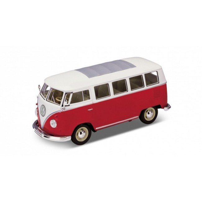 22095W, Машинка  1:24 T1 BUS (RED),