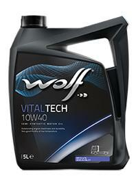 10W40 VITALTECH 5L, Масло моторное WOLF,